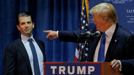 ترامب الأب والابن