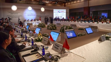 الاجتماع الطارئ لمنظمة التعاون الإسلامي بتركيا
