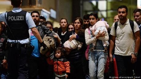 نسبة المهاجرين في ألمانيا تسجل رقما قياسيا جديدا - صورة أرشيفية