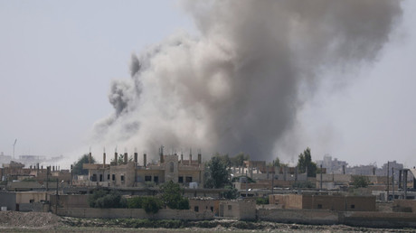 معارك في مدينة الرقة
