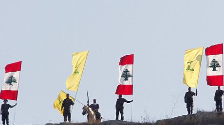 """عناصر من """"حزب الله"""" في عرسال"""