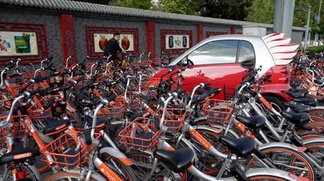 """3 مليون دولار غرامة """"إهمال"""" دراجة هوائية في الصين"""