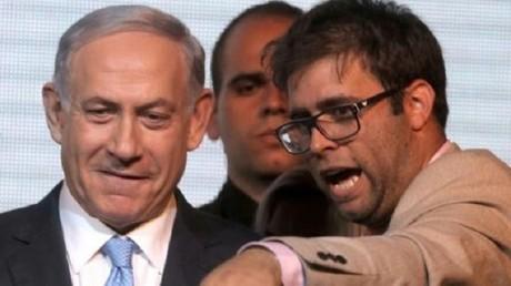 النائب الإسرائيلي أورن حزان مع رئيس الوزراء بنيامين نتنياهو