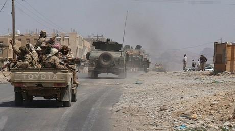 عملية ضد عناصر القاعدة في شبوة جنوب اليمن (صورة أرشيفية)