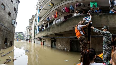 فيضانات تجتاح مناطق في الصين