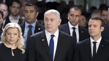رئيس الوزراء الإسرائيلي بنيامين نتنياهو وزوجته ساره