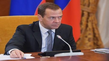 رئيس الوزراء الروسي، دميتري مدفيديف