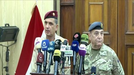 محادثات عسكرية عراقية بريطانية في بغداد