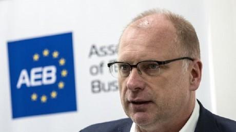 فرانك شاوف رئيس رابطة الأعمال الأوروبية  (AEB) في روسيا