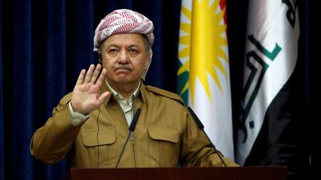 رئيس إقليم كردستان العراق مسعود البارزاني