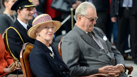 ملكة الدنمارك مارغريت وزوجها الأمير هنريك - أرشيف