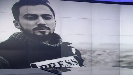RT تقيم مجلس عزاء للفقيد خالد في دمشق