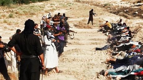 داعش ينفذ عملية إعدام جماعية (صورة أرشيفية)