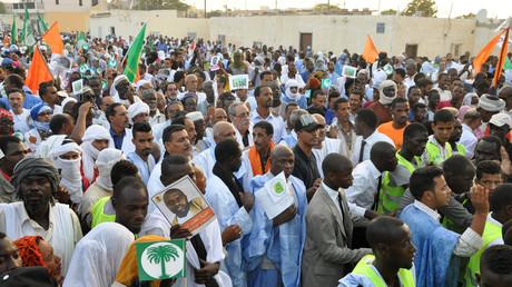 أنصار المعارضة الموريتانية - أرشيف