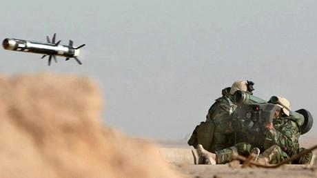 """منظومة """"Javelin"""" المضادة للدبابات (صورة أرشيفية)"""