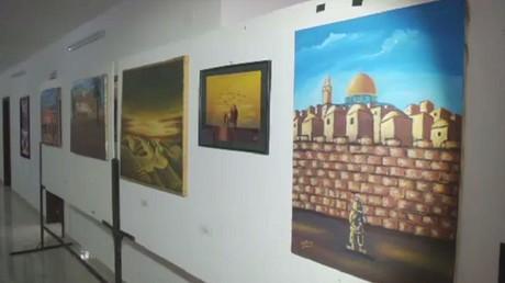 القدس ملح الأرض ... معرض تشكيلي في غزة