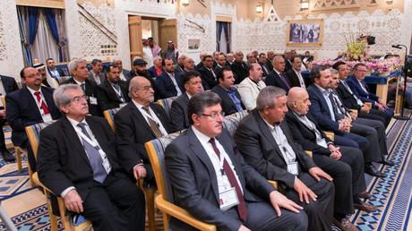 """أعضاء المعارضة السورية """"منصة الرياض"""" - أرشيف"""