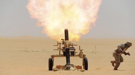 جندي سعودي على الحدود مع اليمن - أرشيف -