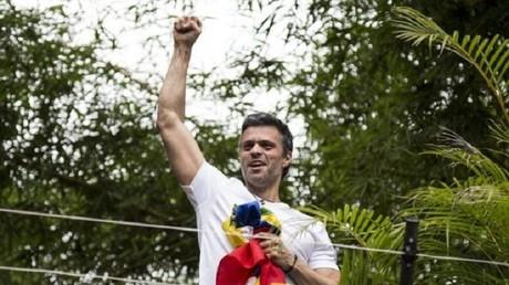 المعارض الفنزويلي ليوبولدو لوبيز