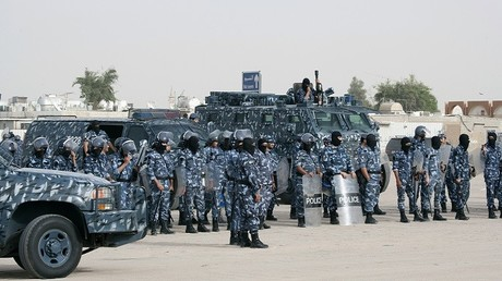 عناصر من قوات الشرطة الخاصة في الكويت