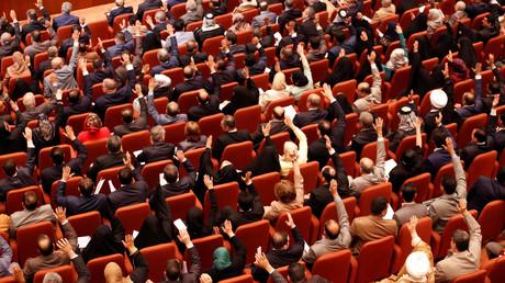 التصويت داخل البرلمان العراقي