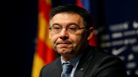 رئيس نادي برشلونة الإسباني، جوسيب ماريا بارتوميو