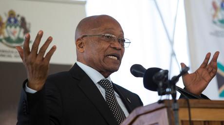 جاكوب زوما رئيس جمهورية جنوب إفريقيا