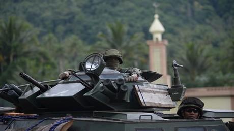 الجيش الفلبيني في مدينة ماراوي
