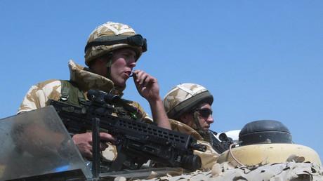 جنديان من القوات الخاصة البريطانية - أرشيف
