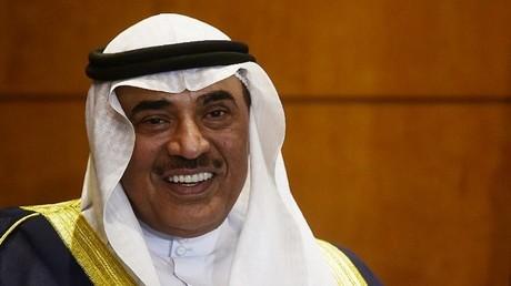 وزير خارجية الكويت الشيخ صباح الخالد الحمد الصباح