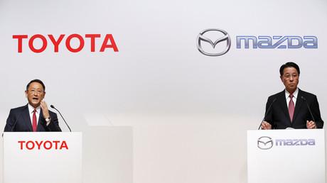 تويوتا ومازدا تتحدان لتصميم السيارات الكهربائية