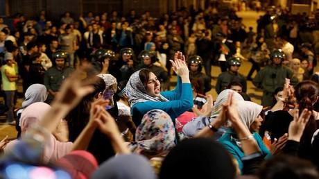 احتجاجات في الحسيمة المغربية (صورة أرشيفية)