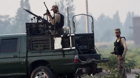 الجيش الباكستاني في عملية لمكافحة الإرهاب (صورة أرشيفية)