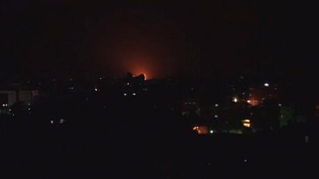 طائرات إسرائيلية تقصف موقعين في قطاع غزة
