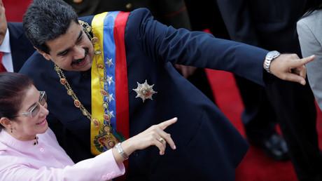 مادورو وزوجته