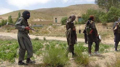 أرشيف - مسلحون من حركة طالبان أفغانستان