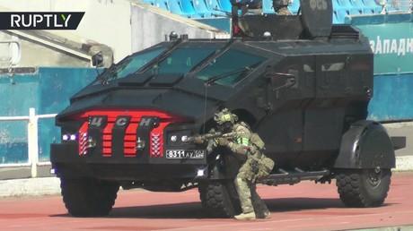 تدريبات قوات مكافحة الإرهاب في روسيا