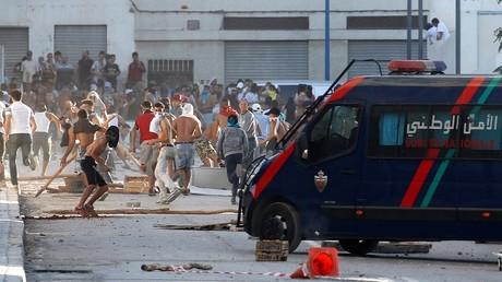 احتجاجات في الحسيمة - المغرب -