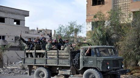 عناصر من الجيش السوري - أرشيف