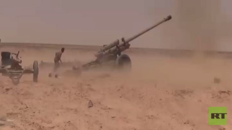 """الجيش السوري يسيطر بالكامل على """"السخنة"""""""