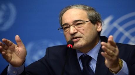 نائب وزير الخارجية السورية فيصل مقداد
