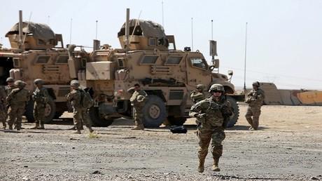 عناصر من القوات العراقية بالعراق