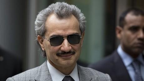 الأمير الوليد بن طلال رئيس مجلس إدارة شركة المملكة القابضة ورئيس مجلس أمناء مؤسسة الوليد الإنسانية