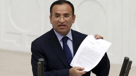 المتحدث باسم الحكومة التركية بكر بوزداغ