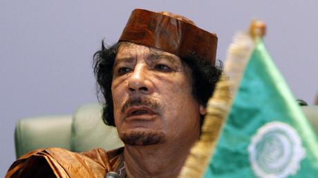 العقيد معمر القذافي - 2010