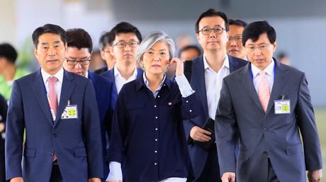 """وزيرة خارجية كوريا الجنوبية تزور روسيا للتحضير لقمة """"بوتين - مون"""""""
