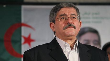 رئيسالوزراء الجزائري أحمد أويحيى