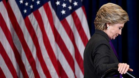 المرشحة الديمقراطية الخاسرة في انتخابات الرئاسة 2016، هيلاري كلينتون