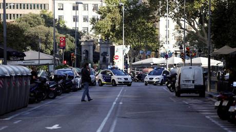 تطويق الشرطة لموقع الهجوم