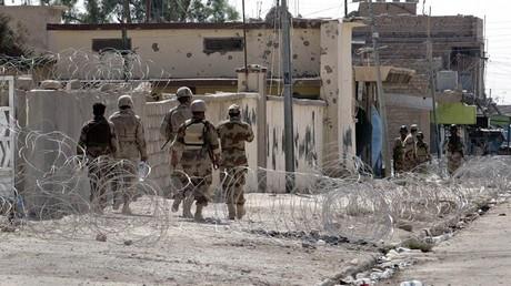 تدمير مواقع لداعش في قضاء تلعفر بضربات جوية عراقية
